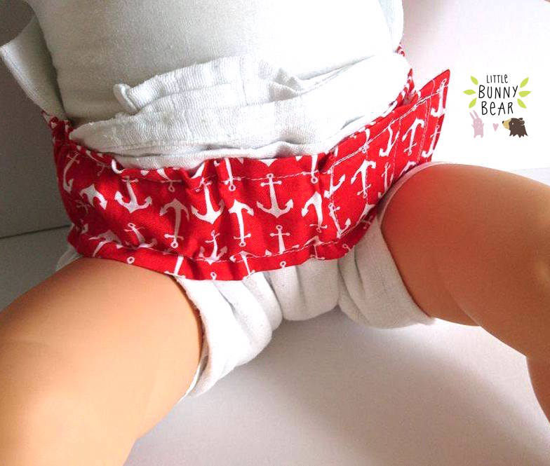 Drop Flap Nappy System Pdf Sewing Pattern Nappy Diaper