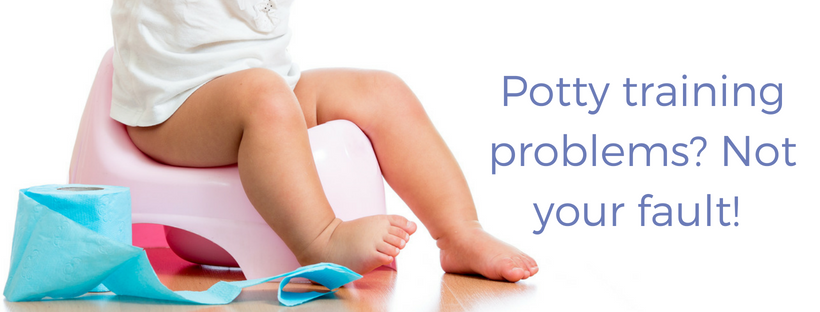 Potty Training Problems Not Your Fault
